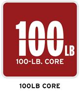 100-lb. core