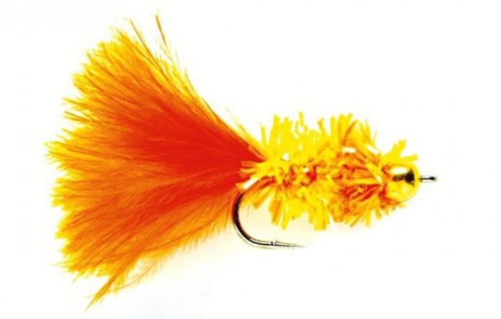 Fulling Mill Streamer - Cactus Fly orange