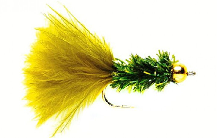 Fulling Mill Streamer - Cactus Fly Olive