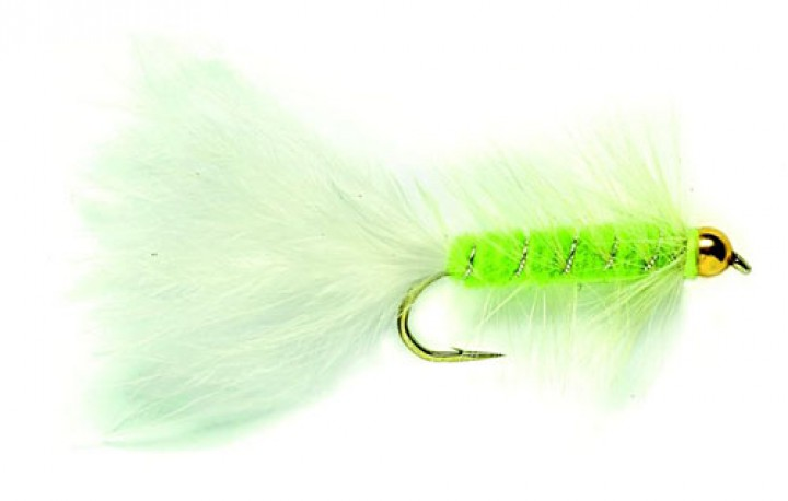 Fulling Mill Streamer - Golden Nugget Cats Whisker
