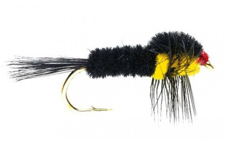 Fulling Mill Nymphe - Montana Yellow Weighted