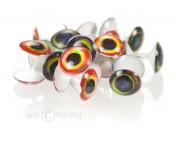 H2O 3D Plastic Dumbbells Augen