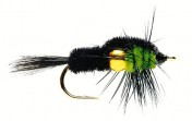 Fulling Mill Nymphe - Golden Nugget Montana Green