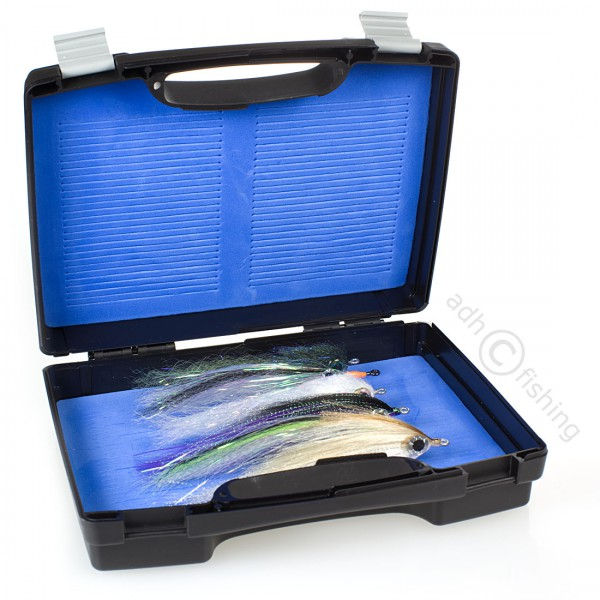 adh-fishing Fliegenset in Fulling Mill Big Fly Box Giant Travelly Großräuber