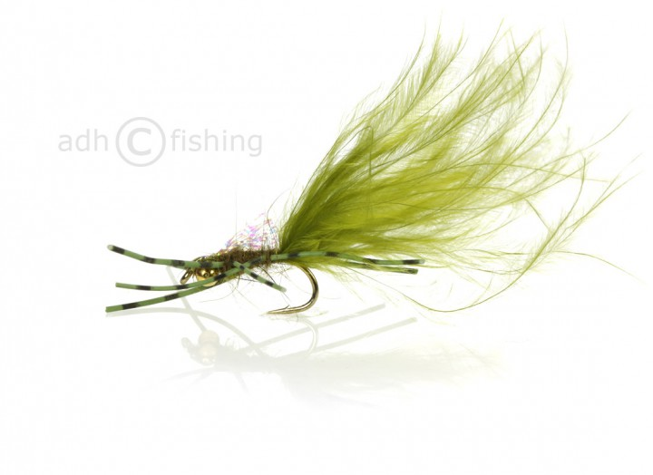 Fulling Mill Nymphe - Down n Dirty Olive