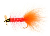 Dog Nobbler Propeller fluo orange