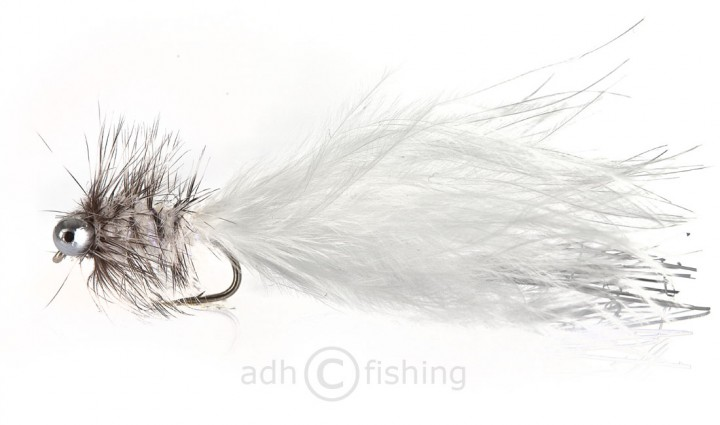 Fulling Mill Streamer - Humungus White