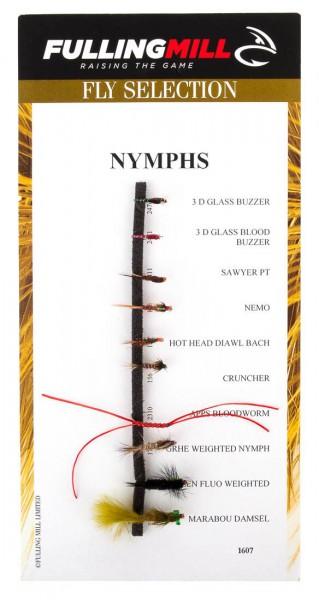 Fulling Mill Fliegenset - Nymphs 10er Set