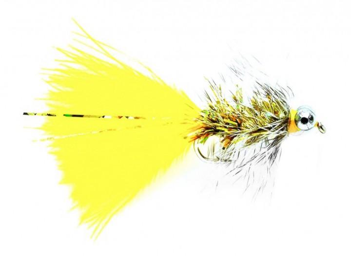 Fulling Mill Streamer - Humungus Sunburst Bead Eye