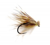 Fulling Mill Trockenfliege - CDC and Elk Caddis Barbless