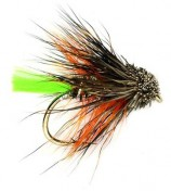 Fulling Mill Trockenfliege - Muddler Mini Green Tail Kate