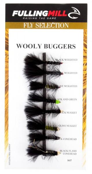 Fulling Mill Fliegenset - Wooly Buggers 8er Set