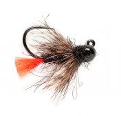 Fulling Mill Nymphe - Tungsten Flashback Red Tag Jig Barbless
