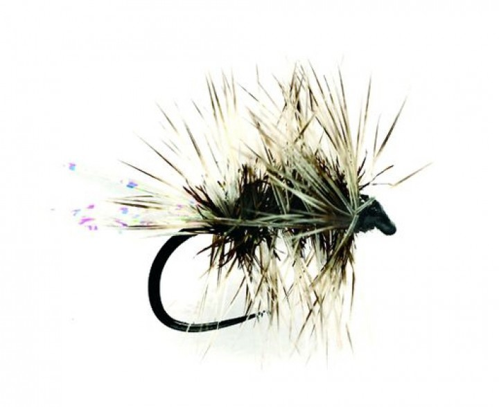 Fulling Mill Trockenfliege - Griffiths Sparkle Gnat Barbless