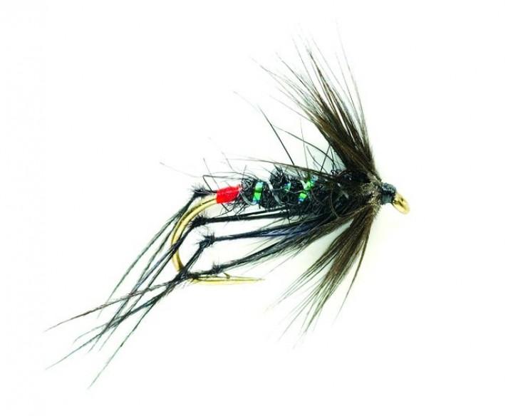 Fulling Mill Trockenfliege - Hopper schwarz