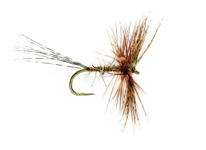 Fulling Mill Trockenfliege - Jingler March Brown Barbless