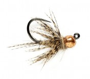 Fulling Mill Nymphe - Tungsten KJ March Brown Jig Barbless