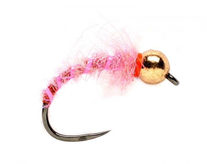 Fulling Mill Nymphe - Grayling Pinky Barbless