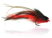 Fulling Mill Salzwasserfliege - Andino Deceiver - rot schwarz