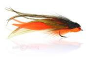 Fulling Mill Salzwasserfliege - Andino Deceiver - orange schwarz