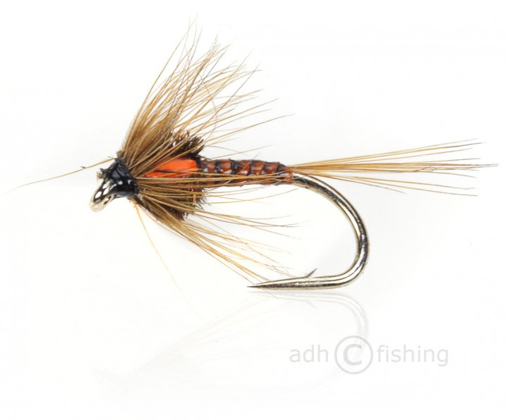 Fulling Mill Nymphe - Cruncher Orange