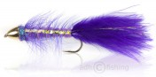 Fulling Mill Streamer - Golden Bullet Purple