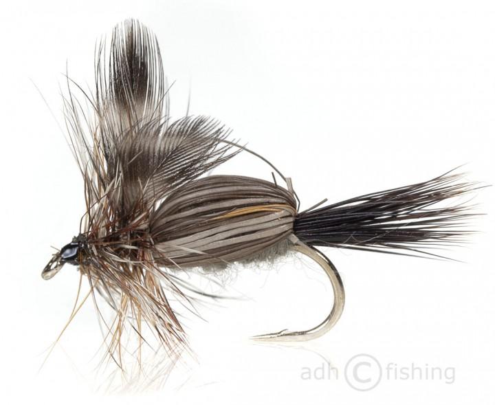 Fulling Mill Trockenfliege - Humpy Adams