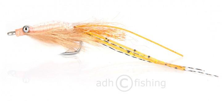 Fulling Mill Salzwasserfliege - Skinny Shrimp Tan