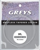 Greys - Greylon Knotless Tapered Leader Vorfach 9ft