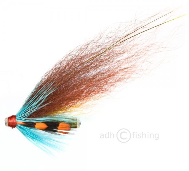 Ulf Sill Style Tubenfliege in Premiumqualität - Kingfisher Blue Stripe