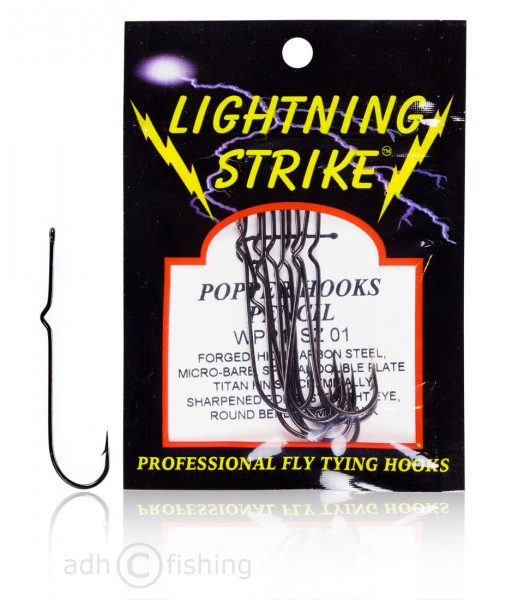 Wapsi - Lightning Strike Pencil und Saltwater Popper Hooks