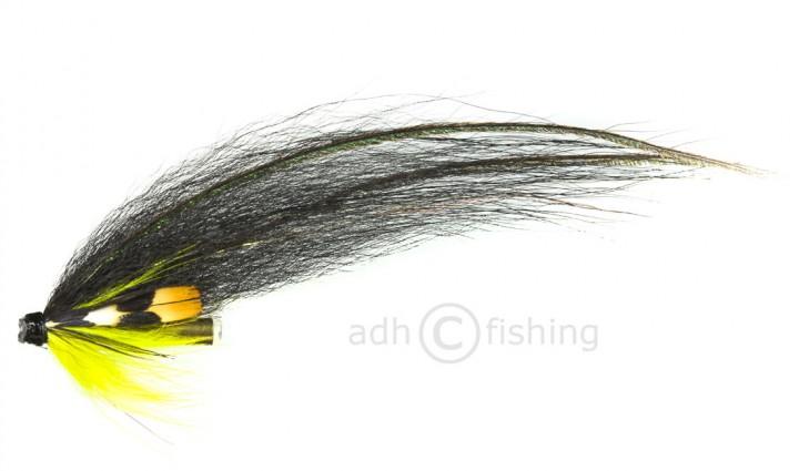 Ulf Sill Style Tubenfliege in Premiumqualität - Long Black Winged Yellow Throat