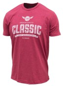 Loop Classic Fly Reels T-Shirt burgundy