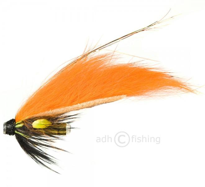 Tubenfliege in Premiumqualität - Micro Orange Black Contrast Rabbit