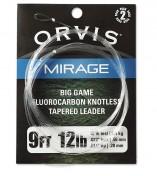 Orvis Mirage Fluorocarbon Leader Big Game 2er Pack 9 ft.