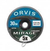 Orvis Mirage Fluorocarbon Vorfachmaterial auf Spule
