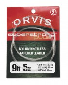 Orvis Super Strong Plus Leader 2er Pack 7,5 ft. 9 ft. und 12 ft.