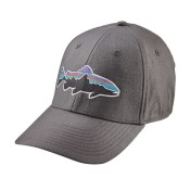 Patagonia Fitz Roy Trout Stretch Fit Hat Kappe forge grey