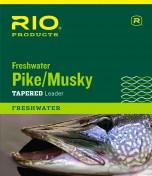 Rio Pike Musky Freshwater Leader Stahlvorfach mit oder ohne Karabiner