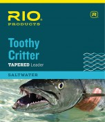 Rio Toothy Critter Saltwater Leader Stahlvorfach mit oder ohne Karabiner