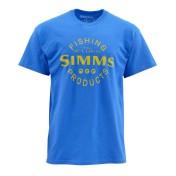 Simms Buy Local T-Shirt cobalt