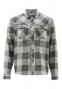 Simms Heavyweight Flannel Shirt Langarmhemd