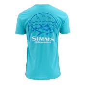 Simms Weekend Tuna T-Shirt cabana blue