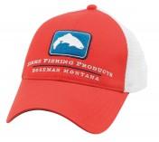 Simms Women's Trucker Cap red stone