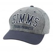 Simms Wool Varsity Cap Charcoal