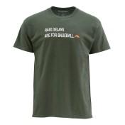 Simms Rain Delays T-Shirt hunter green