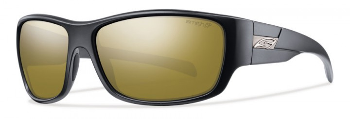 Matte Black / Polarized Bronze Mirror