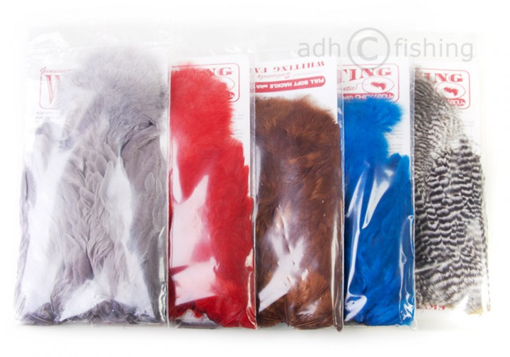 Whiting Soft Hackle Sattel mit Chickabou
