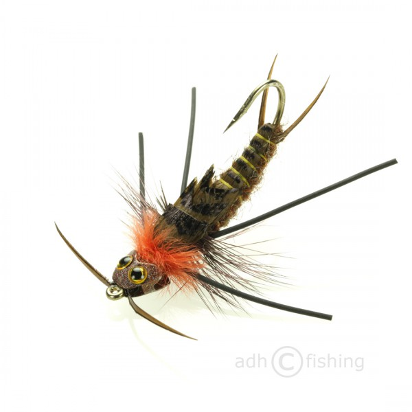 Rainy's Nymphe - Stonefly Nymph TNG brown