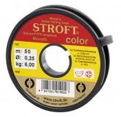 Stroft Color Vorfachmaterial Indicator Line Sichthilfe 25 m/Spule